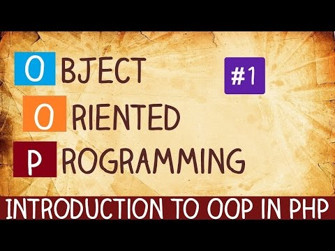 introduction to oop in php