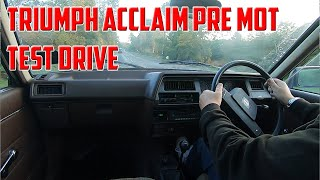Things Don't Always Go To Plan | Triumph Acclaim Update