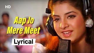 Remembering Divya Bharti Special | Aap Jo Mere Meet Na
