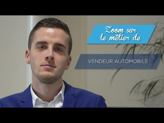 Le métier de vendeur automobile
