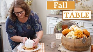 CASUAL FALL TABLESCAPE | FALL TABLE COLLAB 2019