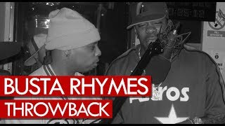 Busta Rhymes freestyle goes in hard! Throwback 1999