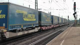 preview picture of video 'Eisenbahnverkehr in Celle und Umgebung - 14'