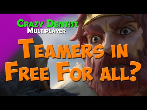 Teamers in Free For all? | Boar clan in FFA | Northgard