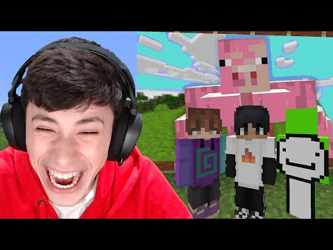 Minecraft, But If You Laugh You Lose...