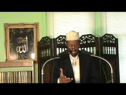 Friday Khutba part 1 by Br Muhammad Ali @ Islamic Center of America