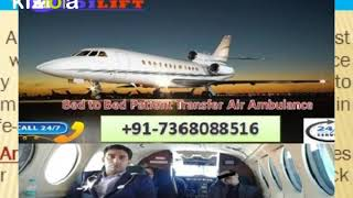 Aircraft Air Ambulance Service in Ranchi with ICU Setup