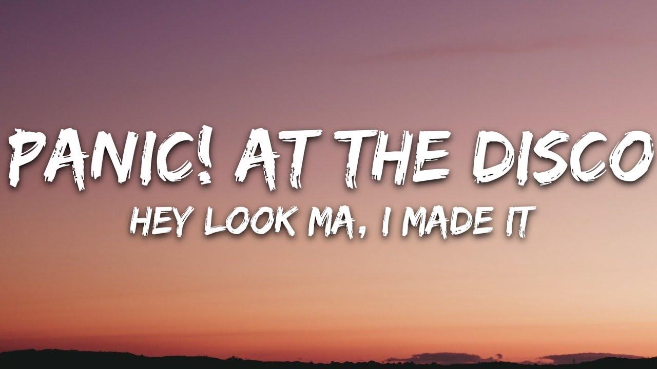 Panic! At The Disco - Hey Look Ma, I Made It (Lyrics)