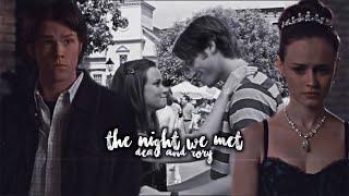 Dean & Rory • The Night We Met [Gilmore Girls]