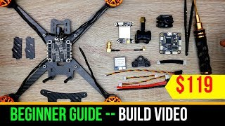 Beginner Guide // How to Build Budget FPV Drone Kit - Eachine Tyro 119