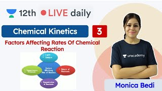 CBSE Class 12: Chemical Kinetics L3 | NCERT | Chemistry | Unacademy Class 11 & 12 | Monica
