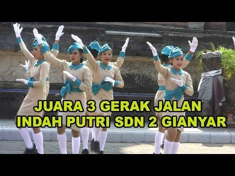 Juara 3 Gerak Jalan Indah Putri SDN 2 GIANYAR TAHUN 2019