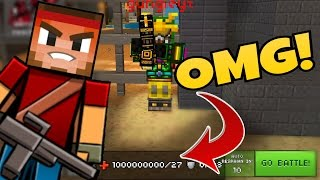 OMG! I KILLED A GOD MODE HACKER! Noob Vs Hacker - Pixel Gun 3D