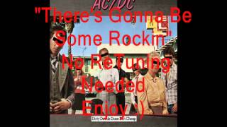 "AC/DC ""There's Gonna Be Some Rockin"": No ReTuning Needed"