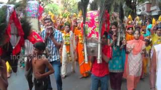 Festival honouring Lord Muruga at Mumbai