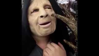 Choking on Halloween costume finger Vine (Loop)