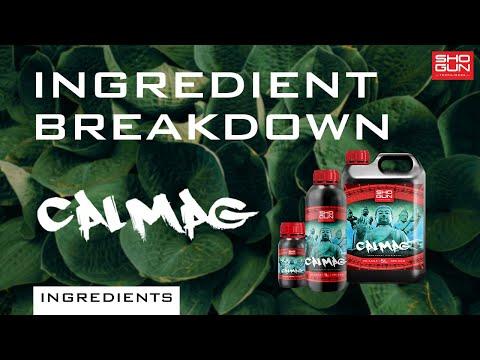Ingredients Breakdown SHOGUN Calmag - Calcium and Magnesium Additive