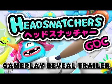 Headsnatchers - GDC Gameplay Reveal Trailer thumbnail