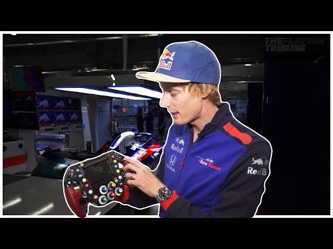 How Does an F1 Steering Wheel Work?