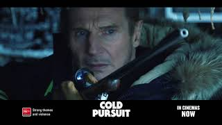 "COLD PURSUIT Starring Liam Neeson   IN CINEMAS NOW (15"")"