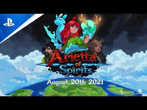 Launch Trailer | PS4 de Arietta of Spirits