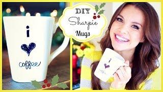 DIY Coffee Mugs ❄ #DIYDecember Day 9