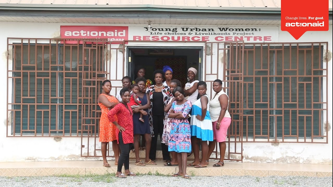 Actor Wunmi Mosaku visits Ghana with ActionAid
