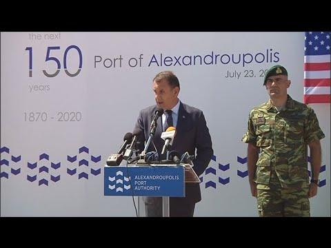 Αμυντική Συνεργασία Ελλάδας-ΗΠΑ (δηλώσεις)