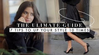 7 Tips to UP YOUR STYLE 10X in 2020! | ULTIMATE Guide
