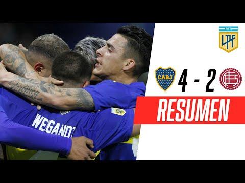 Boca le ganó a Lanús y se acerca a la zona de Libertadores