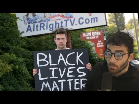 Reacting to Holding a BLM Sign in Arkansas