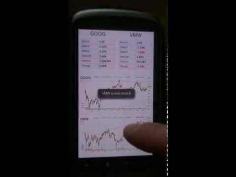 Video of 2 Stocks Side by Side PRO