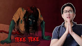 Tôi đã biến thành TEKE TEKE như thế nào 👿 | Câu Chuyện Creepypasta Nhật Bản Đáng Sợ Nhất