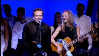 """Sheryl Crow & Robin Williams - """"Everyday is a Winding Road"""" Party Jam"""