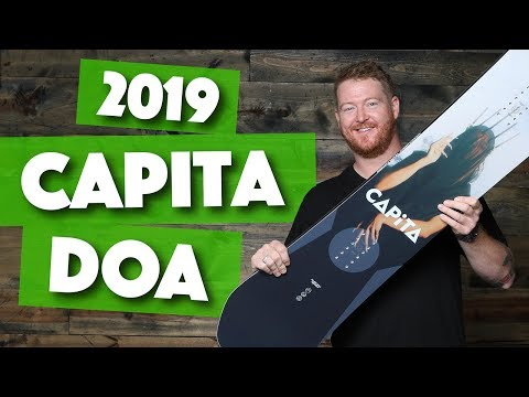 2019 Capita DOA Snowboard Review