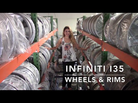 Factory Original Infiniti I35 Wheels & Infiniti I35 Rims – OriginalWheels.com