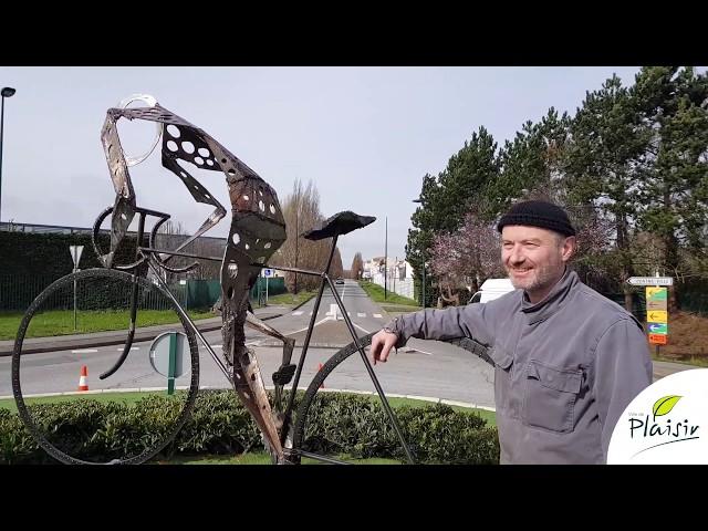 Plaisir - Une sculpture en hommage à Raymond Poulidor