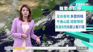 台東 花蓮雙北桃園破36度   華視新聞 20190713