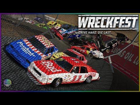 Tube of Love Carnage! | Wreckfest | NASCAR Legends - Lawn Mowers