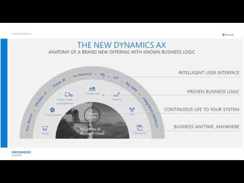 Introducing the New Microsoft Dynamics AX - YouTube