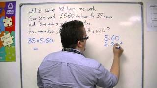 GCSE Maths from Scratch 6.10 Wages and Overtime
