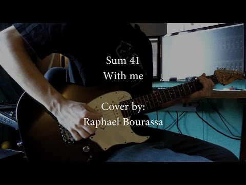 Sum 41 - With me (Full Instrumental cover) (Tabs in description!)