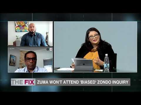 The Fix Zuma won't attend 'biased' Zondo Commission 07 January Part 3