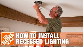 How To Install Recessed Lighting | Can Lights | The Home Depot