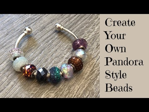 Creating Pandora Style Faceted Beads for Jewelry Making DIY UV Resin Tutorial