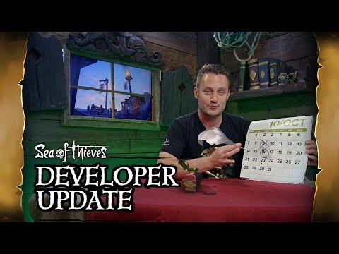 Official Sea of Thieves Developer Update: September 25th 2019