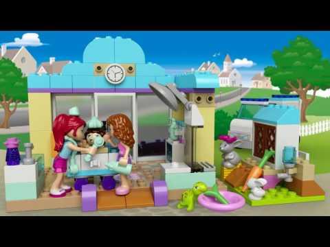 Vidéo LEGO Juniors 10728 : La clinique vétérinaire de Mia
