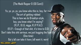 50 Cent - How to Rob ft. Madd Rapper (Lyrics)