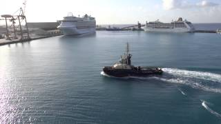 preview picture of video 'Bridgetown, Barbados - Jewel of the Seas Arrival HD (2015)'