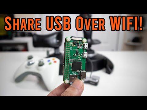 Converting Any USB Device to A Wireless USB using Raspberry Pi Zero